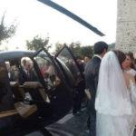 Sposi in elicottero a Nicotera: 7 indagati, perquisito il sindaco