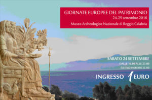 Museo Archeologico Reggio Calabria aderisce a #GEP2016