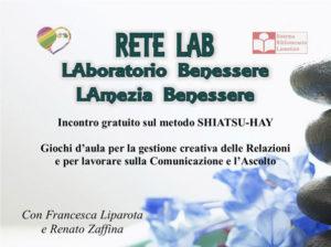 Lamezia: Shiatsu-Hay la gestione creativa delle relazioni