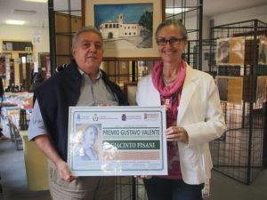 A Giacinto Pisani la seconda edizione del Premio Gustavo Valente