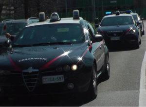 Sicurezza: 4 persone arrestate per furto dai CC a Catanzaro
