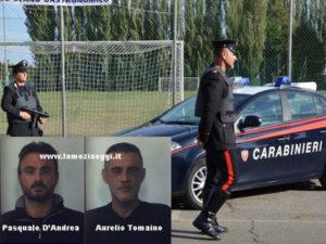 Rapina a mano armata, tre arresti a Vibo Valentia