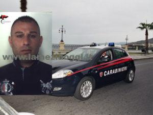 Sicurezza: 30enne arrestato dai Carabinieri per sconto pena