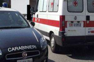 Anziano tenta di darsi fuoco a Crotone, salvato dai Carabinieri