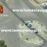 Reggio: massicci  controlli in città da parte della Polizia di Stato