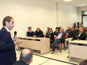Provincia Cosenza: Di Natale incontra dipendenti Vaglio Lise