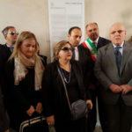 Fortugno: Oliverio depone corona androne palazzo Nieddu del Rio