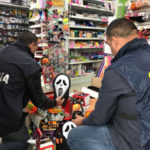 Contraffazione:Gdf sequestra 3,5 mln prodotti per festa halloween
