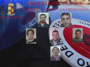 """'Ndrangheta: operazione """"Six Towns"""", indagato ex poliziotto"""