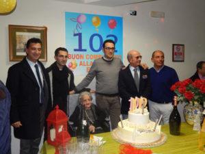 Corigliano: festeggiati i 102 anni della signora Elena Sculco