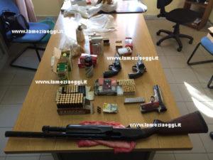 Armi: tre persone arrestate a Briatico dai Carabinieri
