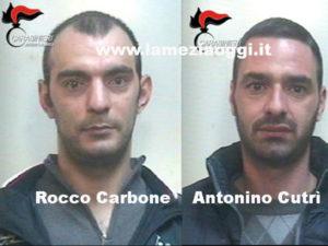 Sconto pena, due arresti di Carabinieri a Sinopoli