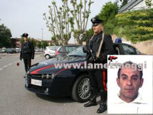 Lascia i domiciliari arrestato dai Carabinieri per evasione