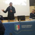 Calcio: formazione al C.F.T., incontro con gli istruttori