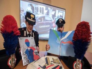 Carabinieri: nel calendario 2017 simboli dell'Arma e scala valori
