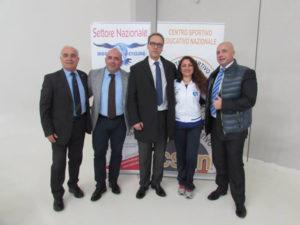 Francesco De Nardo rieletto presidente Csen provincia  Catanzaro