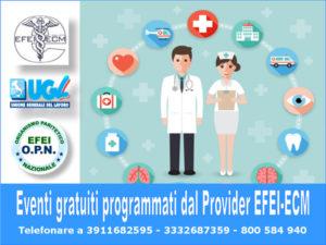 Lamezia: eventi formativi gratuiti per Medici e personale sanitario