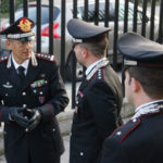 Carabinieri: Generale Silvio Ghiselli  visita compagnia Rende