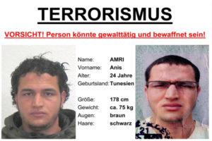 Berlino: Amri ha detto ad agenti di essere di Reggio Calabria