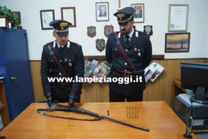 Armi: fucile, munizioni e canna pistola sequestrati in Aspromonte