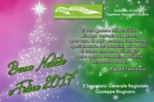 Il Coisp scrive a Babbo Natale, augura buon Natale e felice 2017