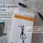 Lamezia: NataleInBiblioteca con Domenico Dara