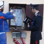 Sicurezza: 53enne arrestato dai Cc per furto energia elettrica