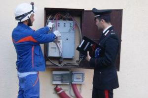 Furto energia elettrica, 4 arresti operati dai Cc di Soverato