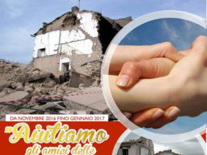 Terremoto: raccolta Stella del Mare in aiuto terremotati Marche e Umbria