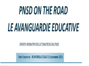 Scuola: PNSD on the road, le avanguardie educative in Calabria