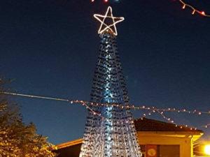 San Pietro Apostolo: comune realizza albero di Natale ecologico