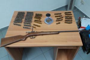 Armi: fucile e cartucce ritrovate nel Reggino dai carabinieri