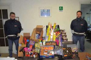 Capodanno: polizia Crotone sequestra 2 quintali di botti