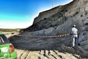 Cfs: cava abusiva sequestrata nel Cosentino