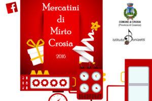 Crosia : domani aprono gli storici mercatini di Natale