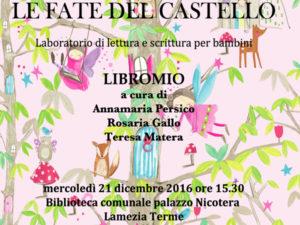 Lamezia: Natale in Biblioteca, con Le fate del castello