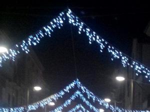 Castrovillari: verso natale 2016, luminarie in citta'