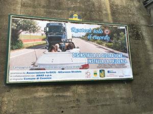 Cosenza: comune aderisce campagne contro la guida in stato di ebbrezza