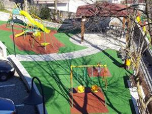 San Pietro Apostolo nuovo parco giochi per bambini