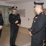 Carabinieri: Colonnello Ottaviani in visita compagnia Rende