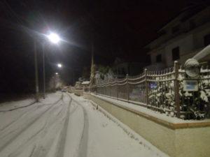Maltempo: Calabria nella morsa del gelo, nevicata a Soveria