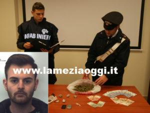 Droga: marijuana e cocaina in auto, un arresto nel Reggino