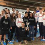"Nuoto: Rari Nantes Lamezia conquista 2° posto ""trofeo  indoor fin"""