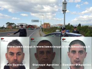 Sicurezza: controlli e perquisizioni, arresti e denunce nella Locride