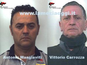Sicurezza: controlli Carabinieri Locri, due arresti