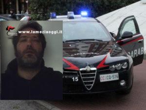 Sicurezza: 35enne arrestato per sconto pena dai Cc a Varapodio
