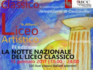 """Castrovillari: la """"Notte Nazionale del Liceo Classico"""""""