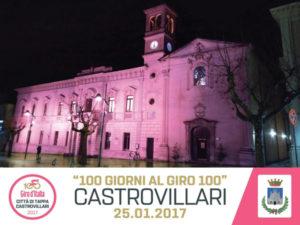 Giro d'Italia: Castrovillari, il municipio s'illumina di rosa