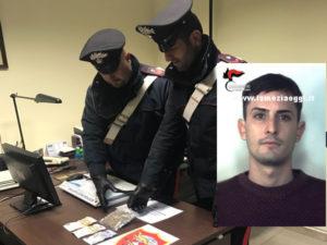 Droga: giovane reggino arrestato dai Carabinieri