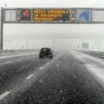 Maltempo: Anas, prosegue emergenza neve;Calabria senza criticita'
